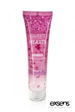 Gel douche Exsens Sweet Hearts - 100 ml : Un gel douche au parfum subtil qui dépose des petits coeurs sur votre peau.