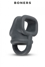 Ball Splitter en silicone liquide - Boners : Séparateur de testicules doux et flexible en silicone liquide, pour le look et les sensations.