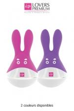 O-bunny stimulateur clitoridien : Un sextoy Fun, ludique, puissant et rechargeable, avec un look de personnage de dessin animé.
