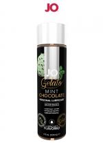 Lubrifiant aromatisé Menthe Chocolat - 120ml : Lubrifiant aromatisé comestible parfum Menthe-chocolat au format 120 ml de la marque Américaine System Jo.