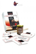 Coffret coquin Défis Chocolatés : Un jeu de préliminaires amoureux avec 30 défis coquins à base de chocolat haute qualité, à consommer sans modération !