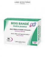 Bois bandé (30 comprimés) : Avec le bois bandé pour hommes et femmes, retrouvez désir, libido et vitalité.