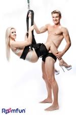 Balançoire spinning swing : Une balançoire dédiée à vos ébats amoureux, pour effectuer les positions sexuelles les plus audacieuses.