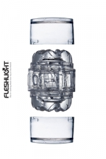 Masturbateur Fleshlight Quickshot vantage : Le nouveau plus petit masturbateur Fleshlight (en version transparente): l'enfiler c'est l'adopter!