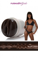 Masturbateur Fleshlight Ana Foxxx Silk : Le clone hyper réaliste du vagin d'Anna Fox, la star du porno californienne, collection Fleshlight Girls.