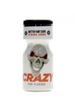 Poppers Crazy Amyl 10ml : Le Poppers Crazy Amyl est un arôme aphrodisiaque au Nitrite d'Amyle, offrant des sensation ultra fortes (flacon de 10 ml).