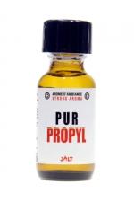 Poppers Pur Propyl Jolt 25ml : arôme aphrodisiaque haute qualité de la collection Pur de Jolt au Nitrite de Propyle, spécial sensations fortes, flacon de 25 ml.