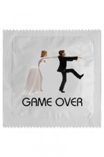 Préservatif humour - Game Over : Préservatif Game Over, un préservatif personnalisé humoristique de qualité, fabriqué en France, marque Callvin.