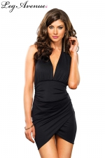 Robe Monica : Cette robe joue avec les drapés pour un style sexy irrésistible.