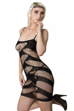 Robe sexy J&M n°4 : Très très hot cette robe sexy ajourée de la collection J&M !